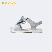 【3件5折价:80】巴拉巴拉官方童鞋儿童凉鞋女童软底精美可爱时尚夏季鞋子