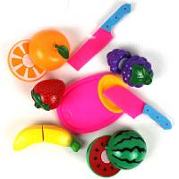 切水果玩具厨房过家家女孩儿童切切乐套装蔬菜切切看圣诞节礼物