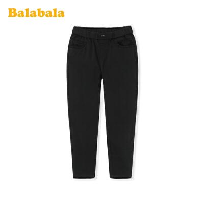 巴拉巴拉女童休闲裤儿童裤子2020新款春装中大童童装时尚百搭洋气