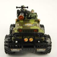 模型玩具 电动遥控汽车 儿童玩具遥控车 模型带灯光