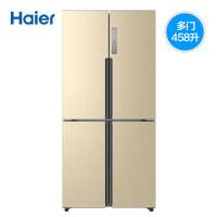 Haier海尔 BCD-458WDVMU1 458升风冷无霜十字对开门 变频干湿分储 WIFI智能家用节能冰箱