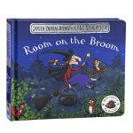 【中商原版】女巫扫帚排排坐 纸板书 英文原版 Room on the Broom 咕噜牛作者朱莉娅・唐纳森Julia
