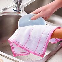 30片�b大��N房毛巾抹布不易沾油棉�洗碗布吸水家�涨��巾洗碗巾擦桌百��布 多�x�窨蛇x