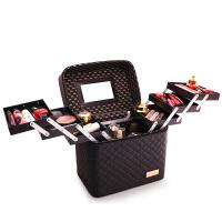 2018纹绣化妆箱子工具箱化妆师化妆包美甲纹眉师 手提式手提包