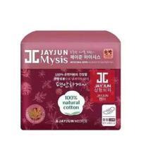 韩国JAYJUN水光竹炭姨妈巾卫生巾 18片日用 红色