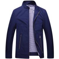 伯思凯2015秋装新款男士夹克外套 商务休闲立领纯色男士薄夹克