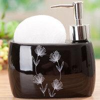 卫浴用品陶瓷洗手液瓶陶瓷乳液分装按压空瓶家居酒店洗发水沐浴露洗手液护发素瓶