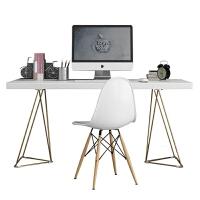 北欧家用台式电脑桌简约经济型卧室书桌现代写字台创意办公桌