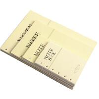 笔记本活页芯 商务办公会议活页记事本笔记本活页芯 6孔道林纸内芯0009