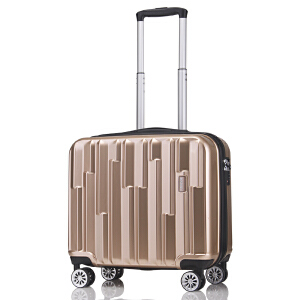 【可礼品卡支付】18寸 OSDY品牌新款 A45旅行箱 行李箱 拉杆箱 登机箱 耐压抗摔ABS+PC材质 静音万向轮