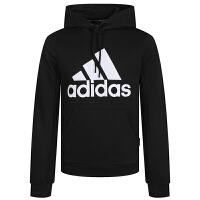 Adidas阿迪达斯男装运动服休闲加绒保暖连帽卫衣套头衫GC7339
