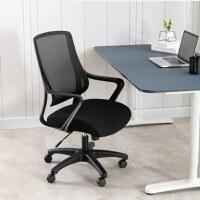 美立居工坊办公会议椅MLJ-Y39网布靠背椅