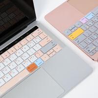 苹果电脑键盘膜macbook新款pro笔记本电脑macair快捷键保护膜