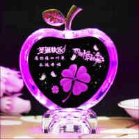 圣诞 情人节创意苹果diy定制刻字生日礼物礼品送闺蜜同学男女朋友特别