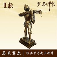 20190814030419251中世纪复古铁艺盔甲人 武士铠甲骑士模型 酒吧家居橱窗摆件装饰
