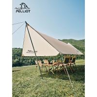 【部分商品两件75折】伯希和天幕户外露营帐篷遮阳棚超轻六角沙滩野营野餐防雨防晒凉棚