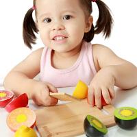 【当当自营】木玩世家 水果切切看 儿童切切看系列木制仿真玩具 过家家玩具 BH3601