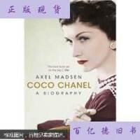 【二手旧书9成新】Coco Chanel可可・香奈尔 /AxelMadsen,(阿克