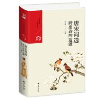 唐宋词选:跨出诗的边疆 一部简明的词史,唐宋词家的生命情调,传颂千年的不朽篇章