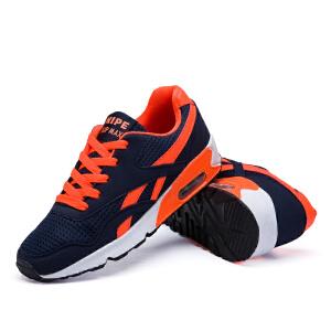 男鞋跑步鞋秋季运动鞋男士休闲鞋网面男鞋透气单鞋