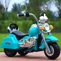 儿童电动车摩托车可坐1-5岁男女宝宝小孩玩具电瓶遥控童车三轮车