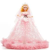 40cm婚纱洋娃娃女孩儿童玩具卡通公仔时尚换装娃娃仿真公主关节洋娃娃礼品礼盒装生日礼物