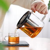 泡茶壶玻璃过滤家用套装大容量电陶炉耐高温烧水壶茶水分离煮茶器