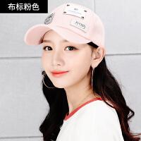 鸭舌帽韩版女士帽子夏防晒遮阳时尚休闲百搭学生街头潮人棒球帽
