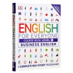 【中商原版】DK人人学英语 商务英语1 课本 英文原版DK-English for Everyone:Business