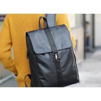 男士双肩包背包男电脑包高中大学生书包男女韩版潮休闲时尚旅行包 B32