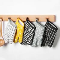 光一烘焙用的烤箱手套防烫微波炉专用厨房手套隔热防热手套耐高温