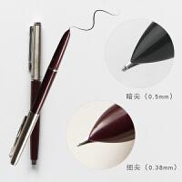 本小姐 英雄钢笔 0.38/0.5mm书法练字钢笔 怀旧经典系列办公签字笔
