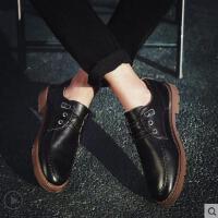 鞋子男户外新品鞋男士商务休闲鞋英伦小皮鞋男韩版百搭男鞋网红时尚潮流新款