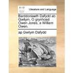 【预订】Barddoniaeth Dafydd AB Gwilym. O Grynhoad Owen Jones, a