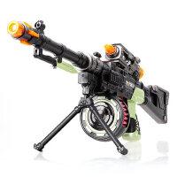 儿童玩具枪声光宝宝机关枪步枪冲锋枪电动仿真枪3-456岁男孩玩具
