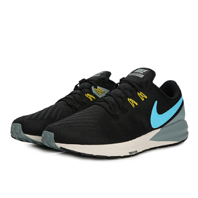 Nike耐克2019年新款男子NIKE AIR ZOOM STRUCTURE 22跑步鞋AA1636-005 秋装尚新 潮品来袭 正品保证