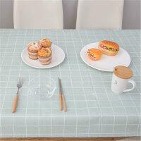 北�W餐桌布 �F代��s防水防�C防油免洗塑料桌布格子�_布茶�撞�PVC桌�|野餐�|子