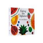 【中商原版】吃掉字母 英文原版 Eating the Alphabet 纸板书 廖彩杏书单 2-6岁