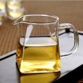 当当优品 加厚耐热玻璃功夫茶分茶器大茶海 方公杯 380ml