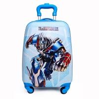 儿童拉杆箱旅行箱18寸万向轮卡通行李箱男童女孩小学生拉杆书包