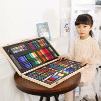 儿童画画笔套装绘画笔小学生水彩笔美术工具学习用品女孩生日礼物