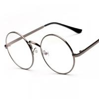 2018082509183652018年新款架男潮防护目辐射眼镜女圆形复古眼镜框无度数眼睛圆框平面镜韩版眼镜