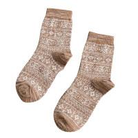 时尚长袜子男潮流个性民族风男袜秋冬英伦复古男士袜子冬季厚袜子