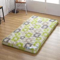 加厚专用学生宿舍上下铺床垫可折叠单人床褥子地铺睡垫被0.9m床质量媲美慕斯喜临门顾家