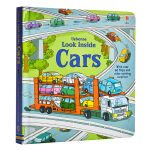【中商原版】英文原版Look Inside Cars (Usborne Look Inside) Board book