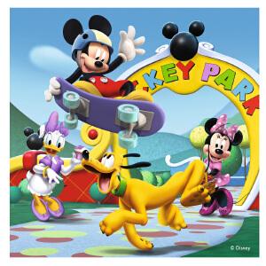 [当当自营]Ravensburger 睿思 迪士尼系列 米奇俱乐部礼盒装 (2x25片,2x36片) 儿童益智卡通拼图玩具 R072149