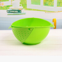 红兔子(HONGTUZI) 可移动滤罩淘米器创意蔬果清洗过滤器塑料洗菜篮沥水篮米篮