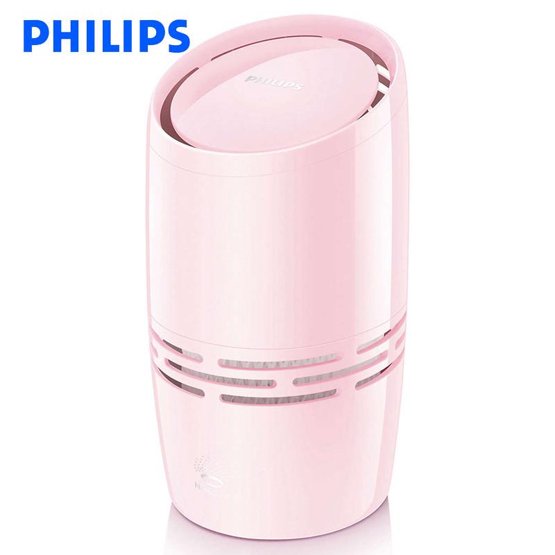 飞利浦(Philips) 空气加湿器 HU4706/02 迷你智能 家用加湿器增湿器 冷蒸发无雾技术 纤巧桌面款,飞利浦纳米云技术,1.3升容量