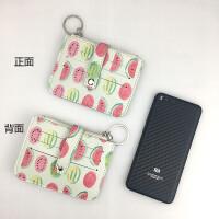 6卡位卡通零钱包迷你钥匙扣女可爱卡包女学生韩版小钱包小卡包女