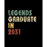 【预订】Legends graduate in 2031: Vintage Composition Notebook F